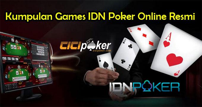 Kumpulan Games IDN Poker Online Resmi